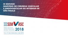 DVD + ONLINE - III SIMVASC  2018 - Simpósio de Cirurgia Vascular e Endovascular do Interior de São Paulo